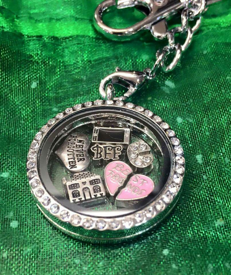 Keyring £10 each (without backplate & charms)