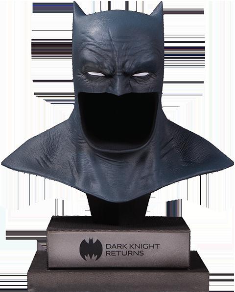 The Dark Knight Returns Batman Cowl Statue Batman Cowl Dark Knight Returns Batman