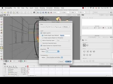 Toon Boom Animate Pro 2 Video Tutorials - 27 Importing A