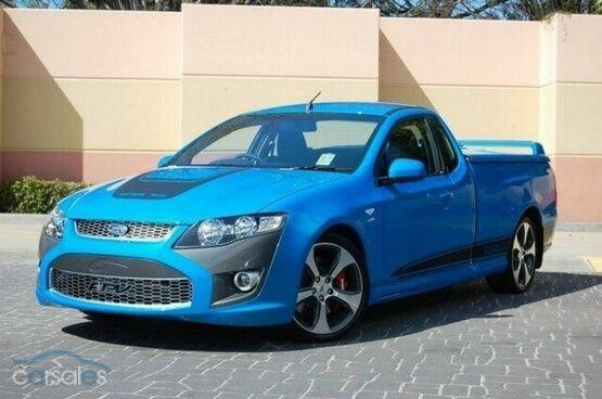 Fpv Fg Super Pursuit Ute Ford Falcon Australia Custom Cars Ford Falcon