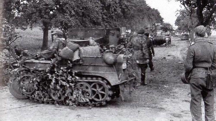 Kettenkrad - Netherlands, 1944