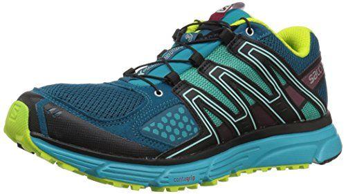 Salomon Damen X Mission 3 W, Trailrunning Schuhe, grau