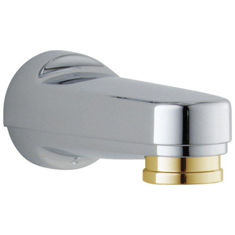 Delta Rp17454cb Wall Mount Metal Diverter Tub Spout Delta