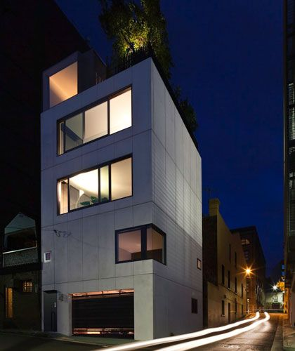 Modular construction house in sydney australia designed by woods bagot featured on grand designs television