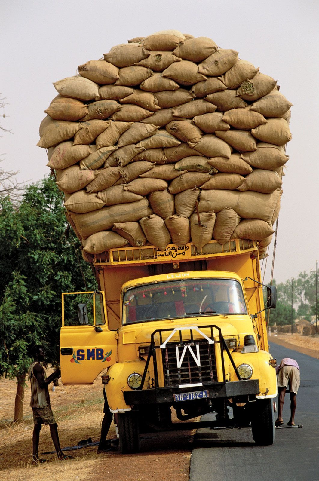 Peanut Delivery ,Senegal I found this one too. Africa