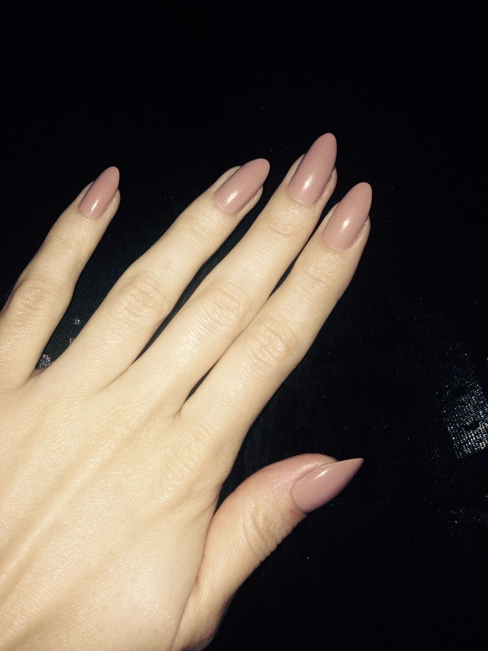 Natural oval nude nails   ~ Nails ~   Pinterest   Nude nails
