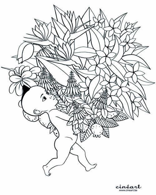 kirikou coloring pages - photo#19