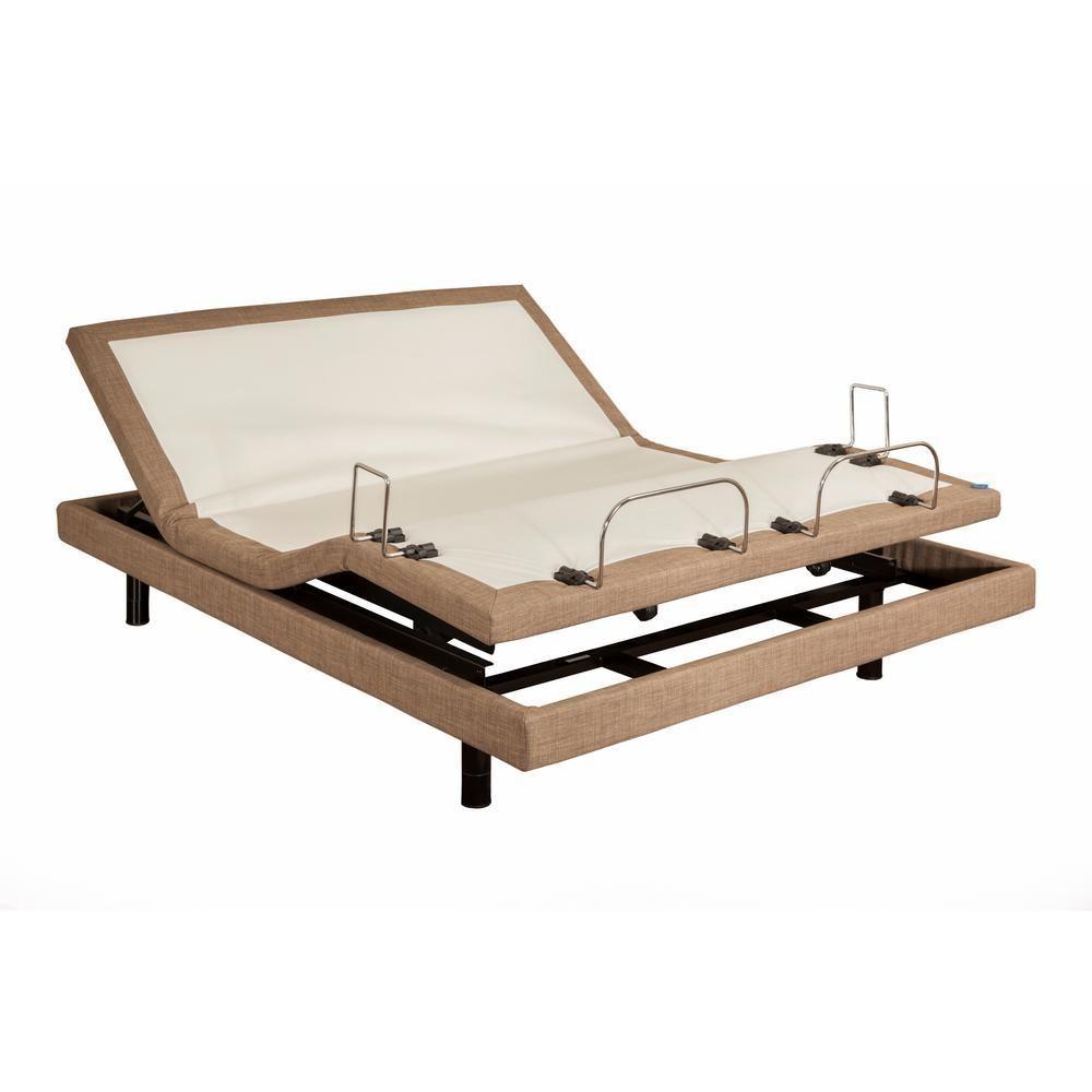 M3000 Queen Adjustable Bed Frame, Brown #AdjustableBeds | Adjustable ...