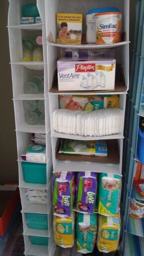 Cheap Organization Solution For Baby Necessities And An Easy Way