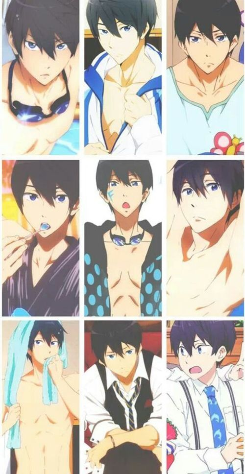 Haruka Nanase His Face And Body Are Good References Free Anime