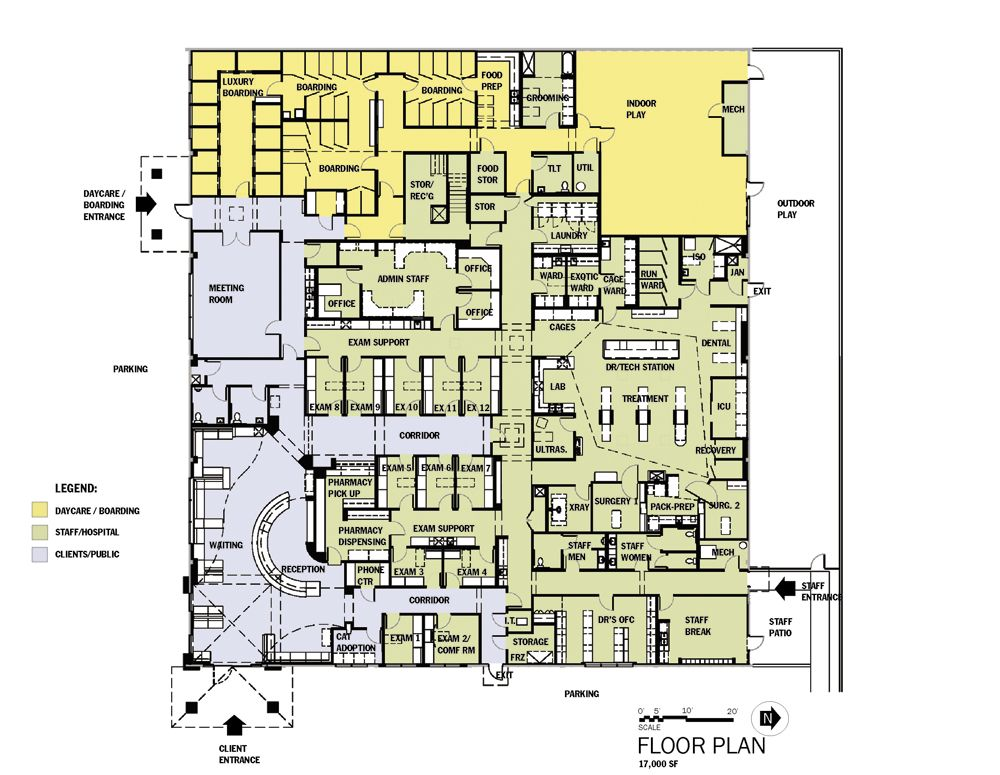 Floor plan Hospital Design Hospital design, Hospital