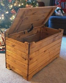 easy to follow step by step toy box plans or pattern grandmas projects in 2019 diy toy box. Black Bedroom Furniture Sets. Home Design Ideas