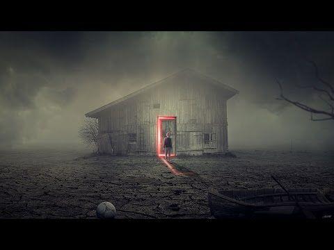 Photoshop Manipulation Tutorial The Haunted House 포토샵 판타지