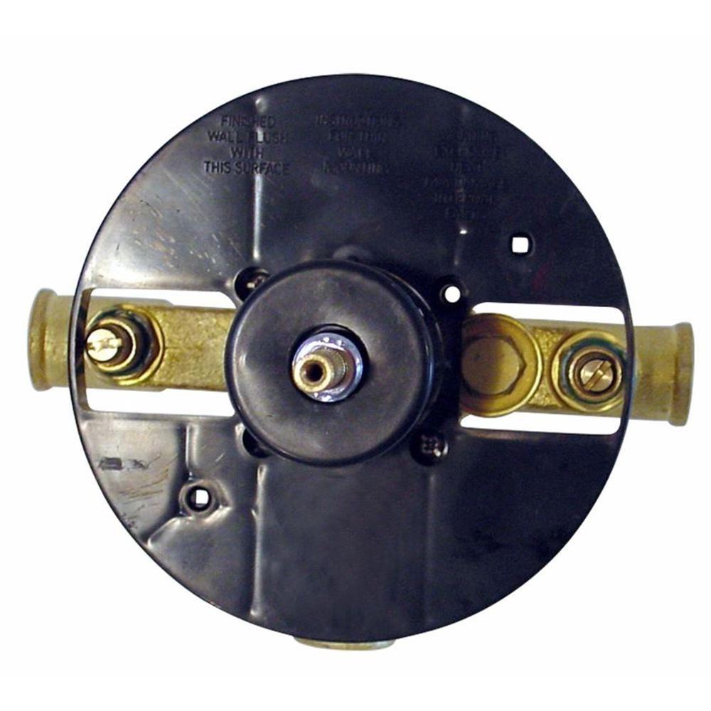 Single-Control Pressure Balance Shower Valve without Diverter