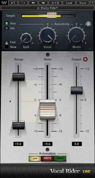 Vocal Rider Plugin Waves Waves Audio Waves Plugins Vocal