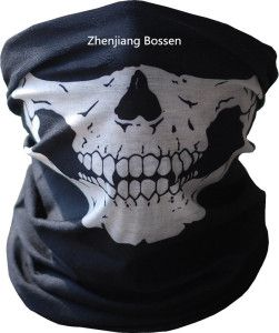 Customized Design Skull Printed Black Sports Multifunctional Buff Headwear  on Made-in-China.com cf9bb17533a
