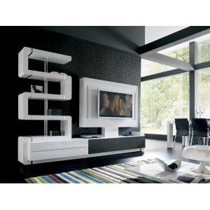 Muebles de tv modernos buscar con google sala tv - Muebles modulares modernos ...