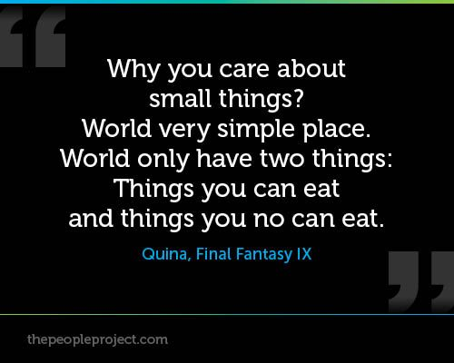 Why Do You Care About Small Things World Very Simple Place World