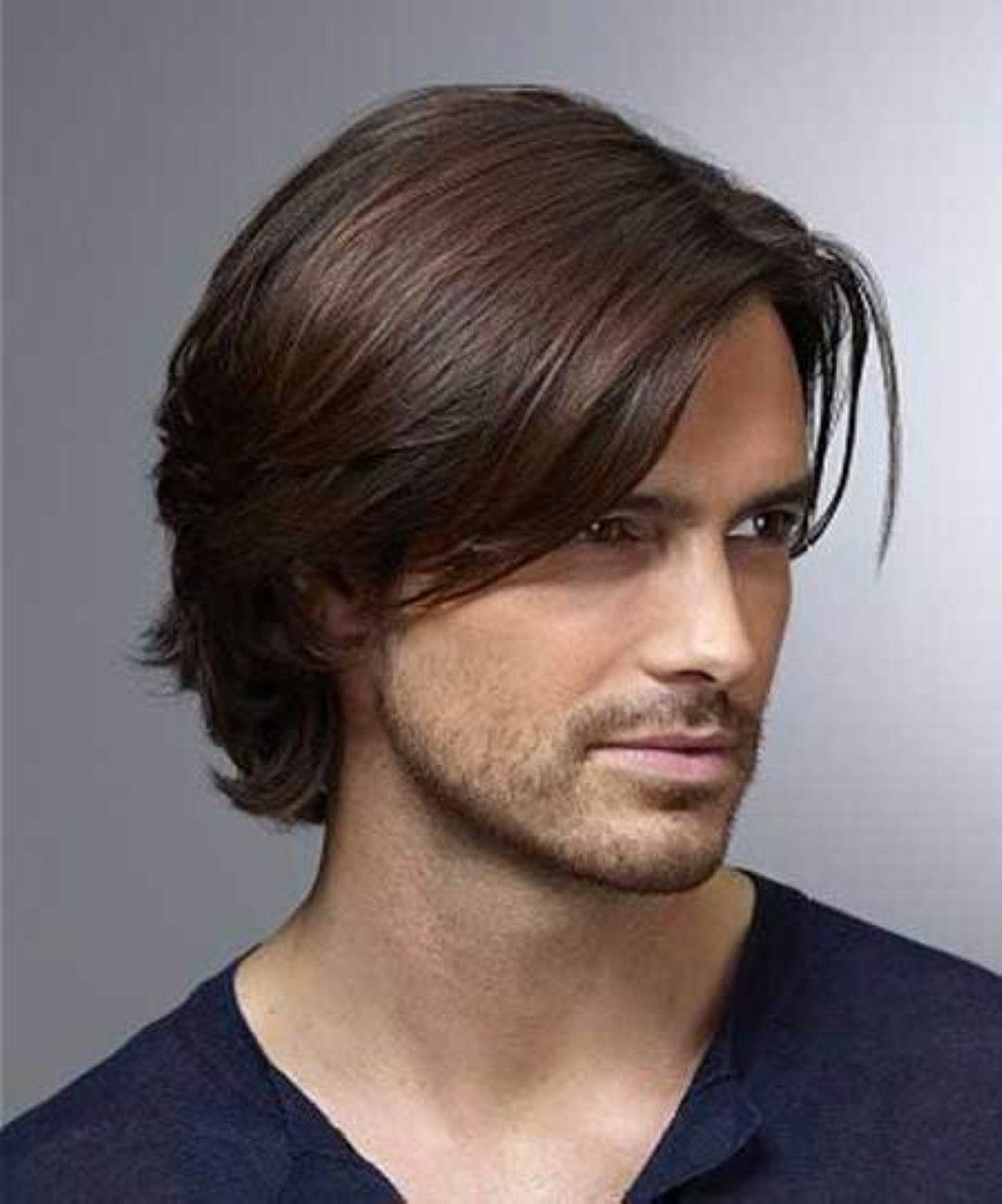 Mens One Length Haircut Easy Hairstyles For Medium Length