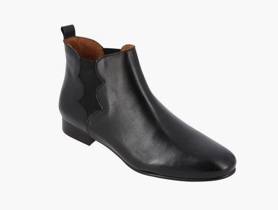 21e564abb51 Boots femme noir Galeries Lafayette