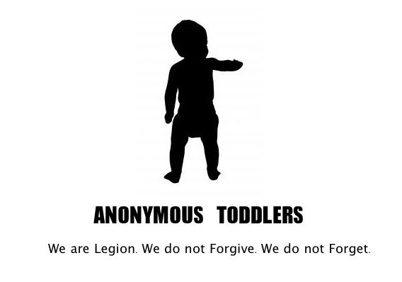 This blog is hilarious!  Life from your toddler's POV!
