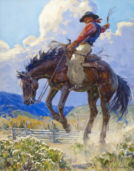 Quot Rocky Mountain High Quot Great Western Artists Cowboy