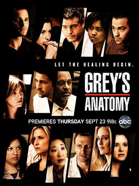 Greys Anatomy Tv Poster 8 Internet Movie Poster Awards Gallery