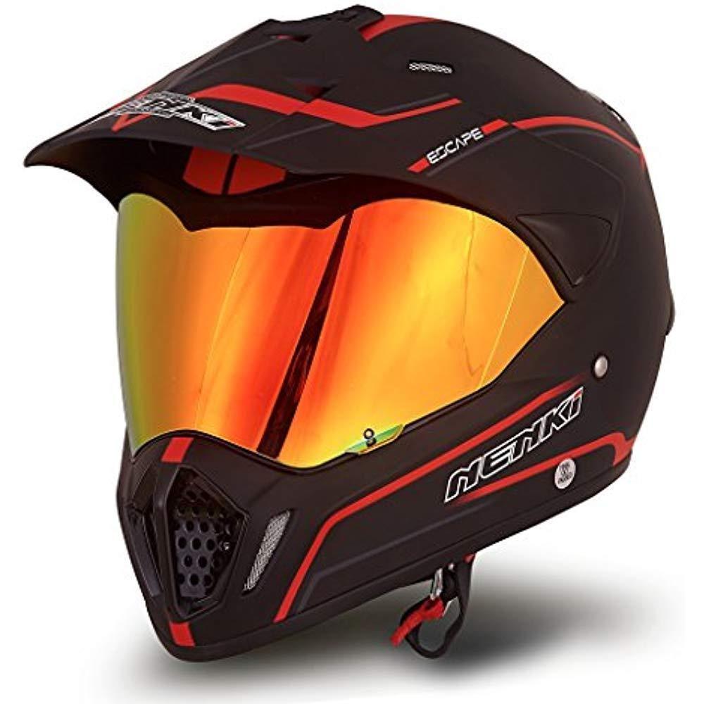 Helmets Dual Sport Full Face Motocross & Motorcycle Dot