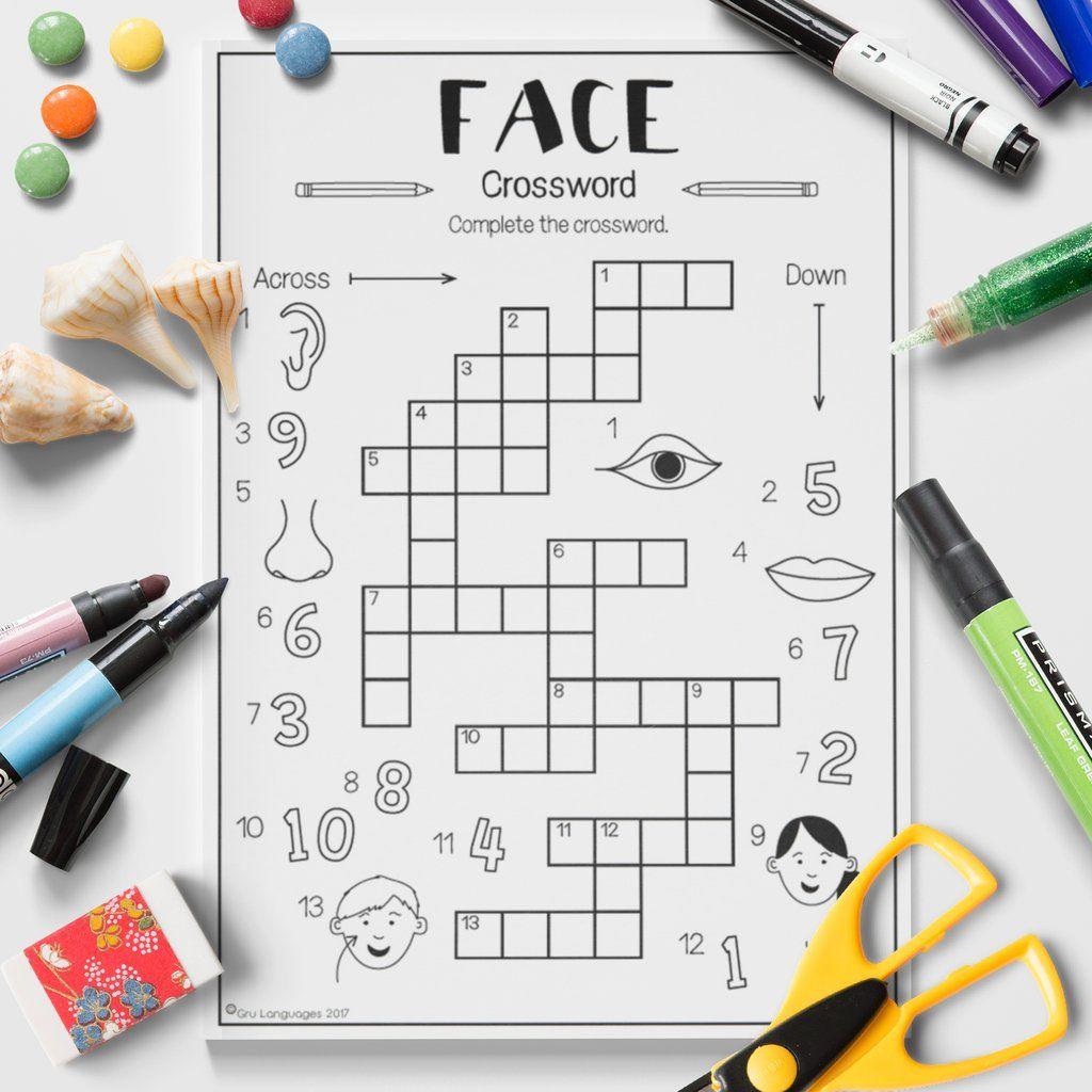 Face Crossword