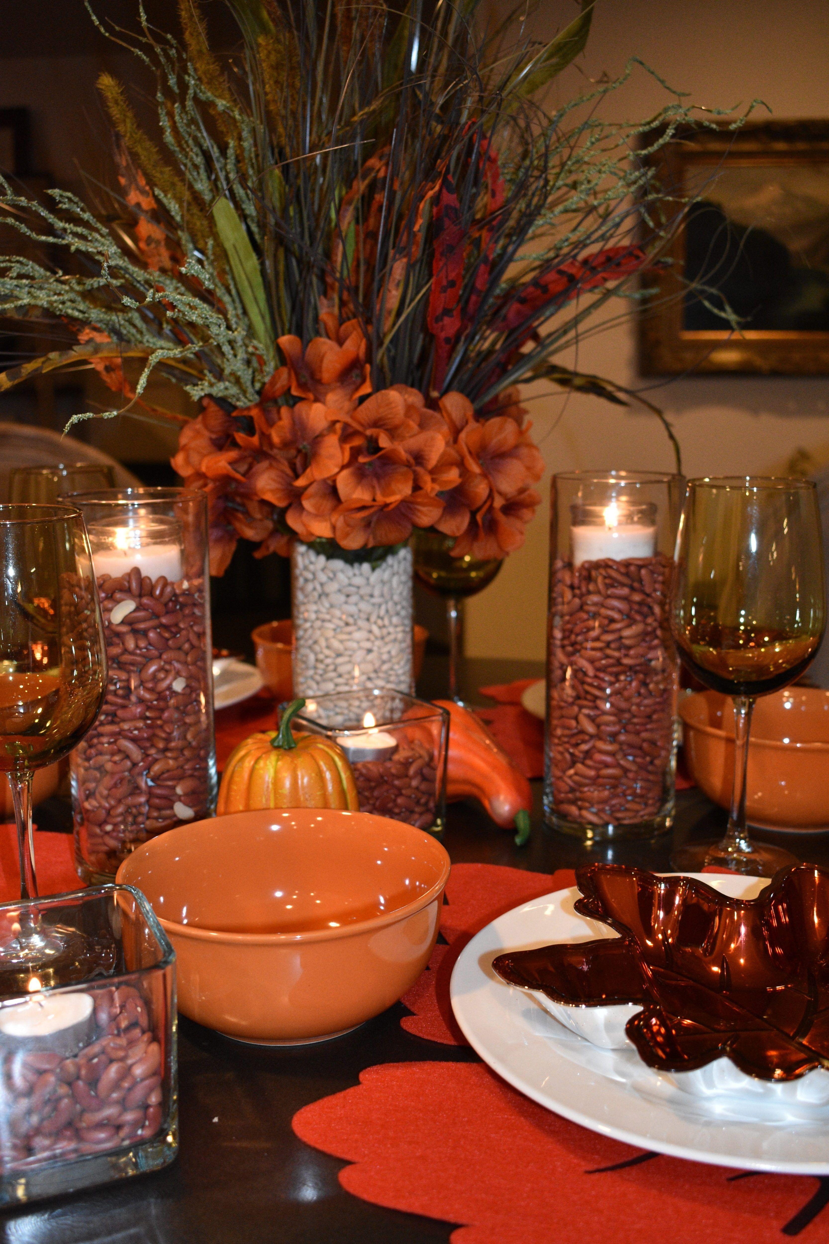 Dollar Tree Fall/Thanksgiving Table Setting | Thanksgiving ...