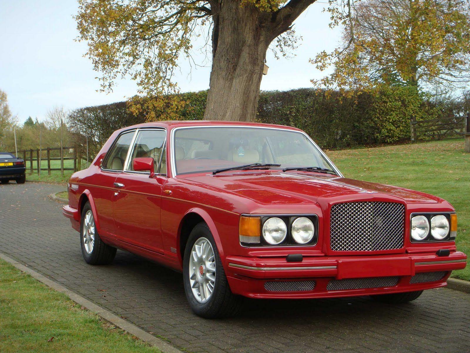 1990 bentley hooper 2 door turbo r my 2nd favorite car after