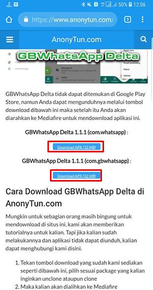 Whatsapp Mod Delta Gb 100 V 218327 Apk Cloneunclone di