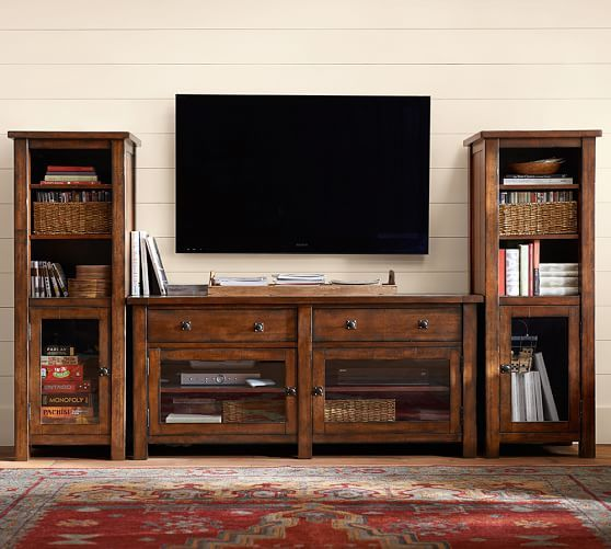Benchwright Entertainment Center Tv Stand Living Room Tv Stand