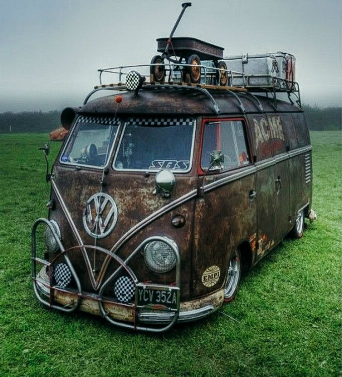 Here Are The 11 Sexiest Customized Vw Camper Vans Ever To -9223