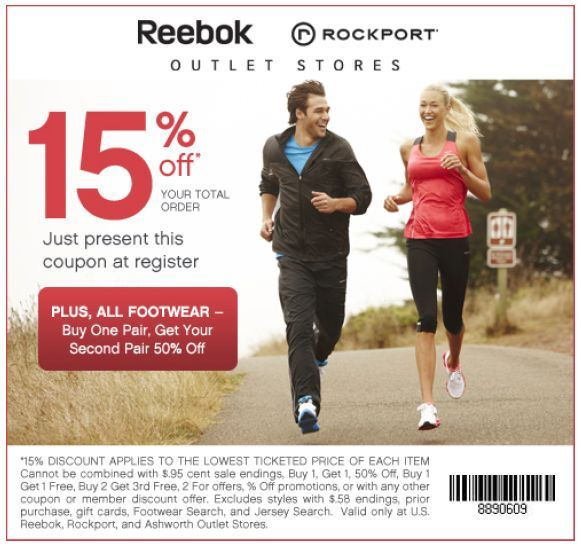 Get off at Reebok with this printable in-store coupon from Goodshop