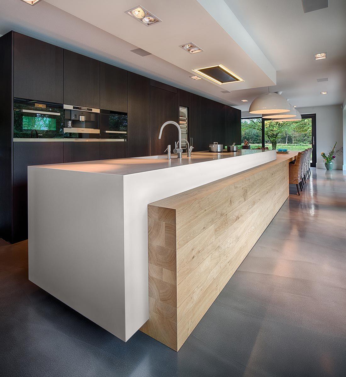 Woonhuis M by WillemsenU Architecten (18)   Modern Kitchen   Pinterest
