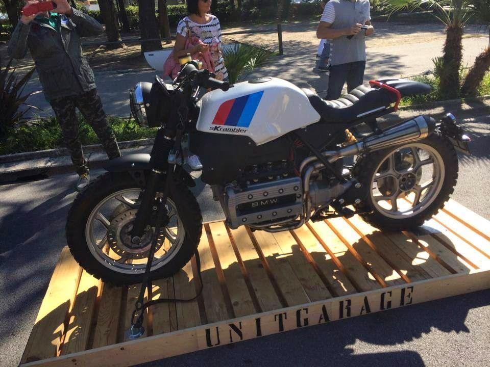 Nice k bike scrambler from unit garage everything is for Garage bmw nice