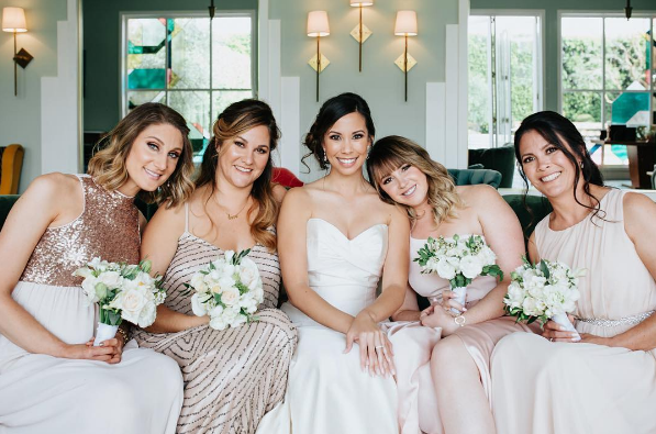 23 Bridesmaid Squads Whose Fashion Game Is On Point Bridesmaid