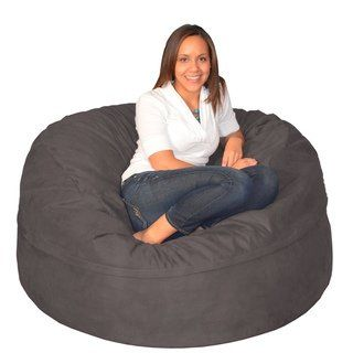 Wondrous Porch Den Green Bridge Large Memory Foam Bean Bag 5 Foot Machost Co Dining Chair Design Ideas Machostcouk