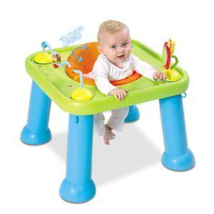 Smoby Youpi Baby Cotoons Table D Activite Youpi Bleu Vert
