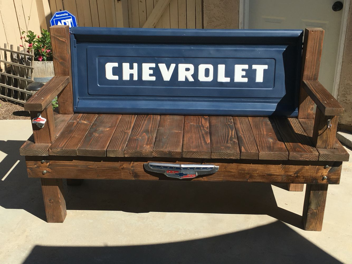 Chevy Tailgate Bench Diy Project Second Tailgate Bench Chevy Chevytailgate Chevybench Bench Diy Ru Tailgate Bench Chevy Tailgate Bench Woodworking Plans