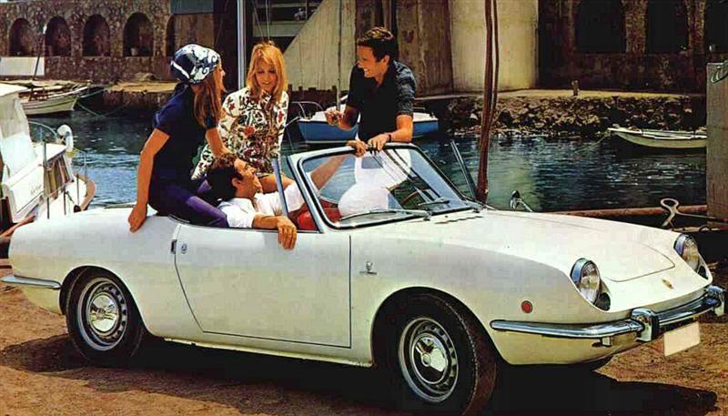 Fiat 850 Spider Styled By Giorgetto Giugiaro At Bertone Nice