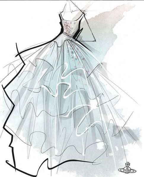 62ae40c5223f4 Remember in our Princess Dress? #fashionillustration #vogue ...