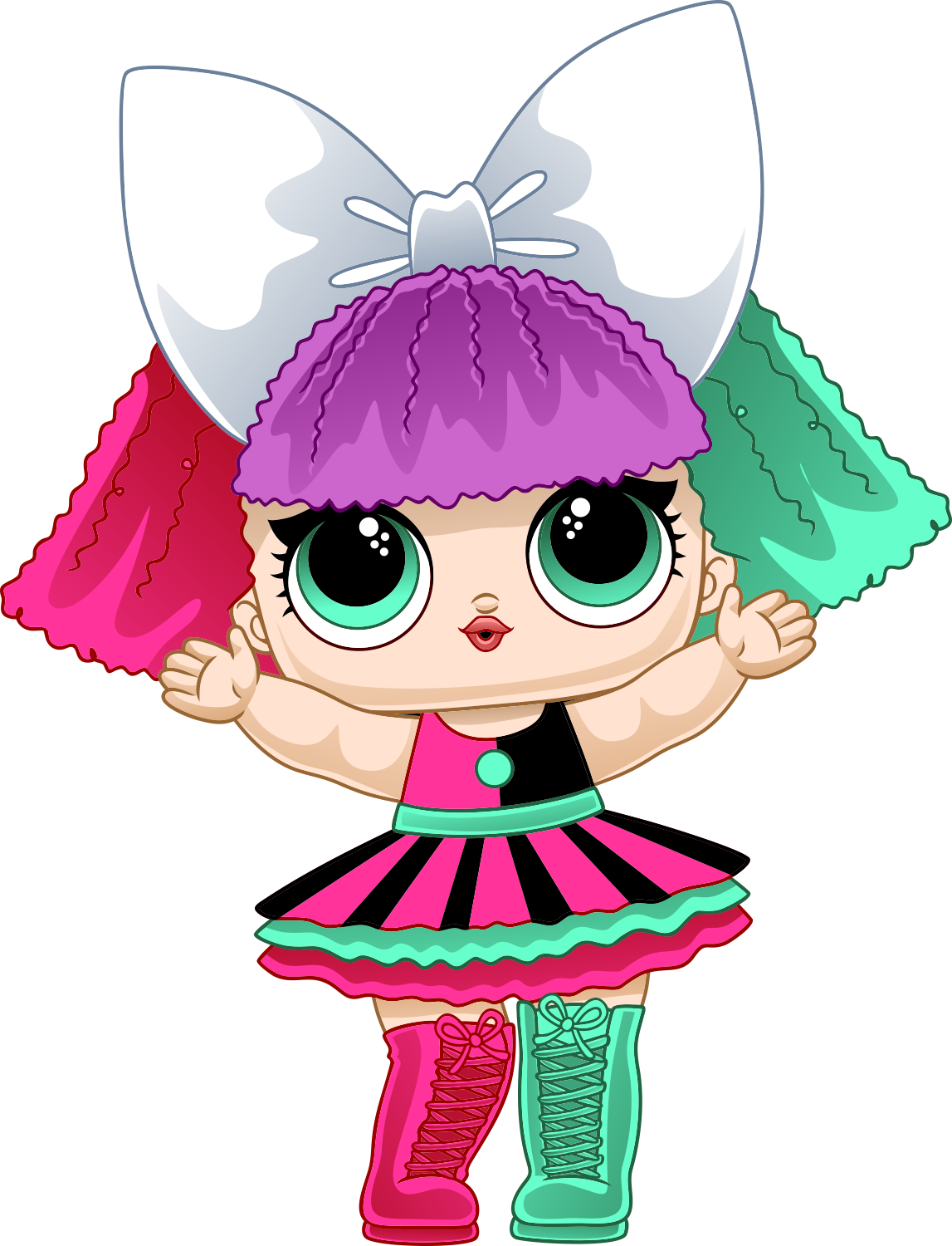 100 Lol Surprise Vectors In Cdr Png And Svg Lol Dolls My Little Pony Poster Cute Cartoon Girl