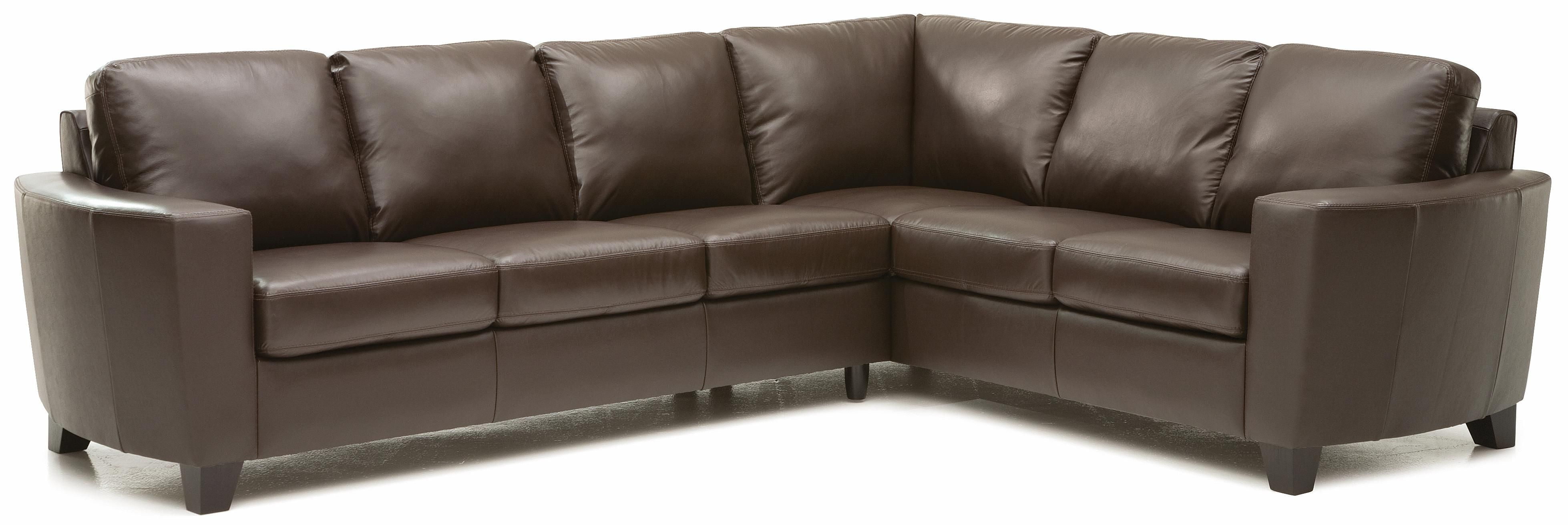 Sofa Foam Leeds Leeds Contemporary 2 Piece Sectional With Laf Sofa By Palliser