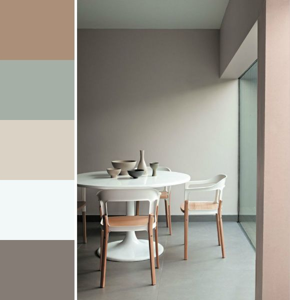 Color palette Delicate Mix by Kleurinspiratie.nl  Color trends & palettes  Pinterest ...
