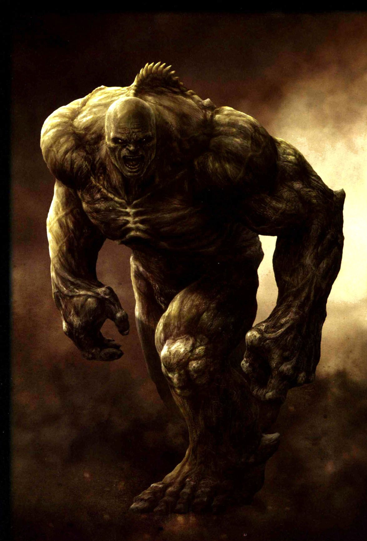 Abomination from The Incredible Hulk; not quite a super ...