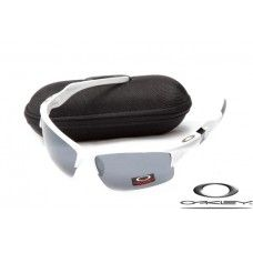 Oakley Half Jacket 2.0 Sunglasses White Frame   Gray Lens   Specs ... 8ac1589a1a