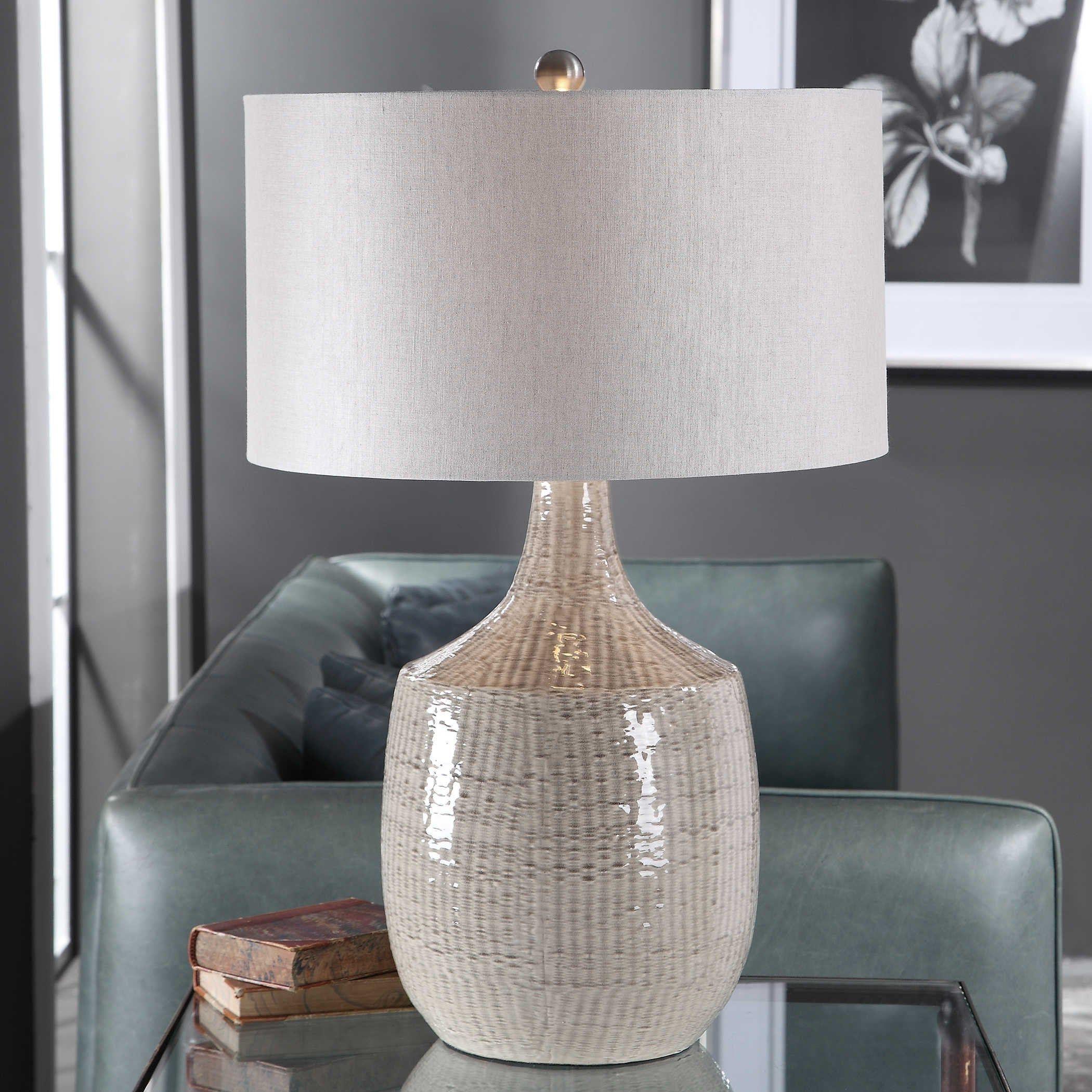 Felipe Gray Table Lamp Table Lamp Lamp Modern Lamp Handmade Lamp Ceramic Lamp Ceramic Table Lamp Entry Way In 2020 Grey Table Lamps Table Lamp Design Table Lamp