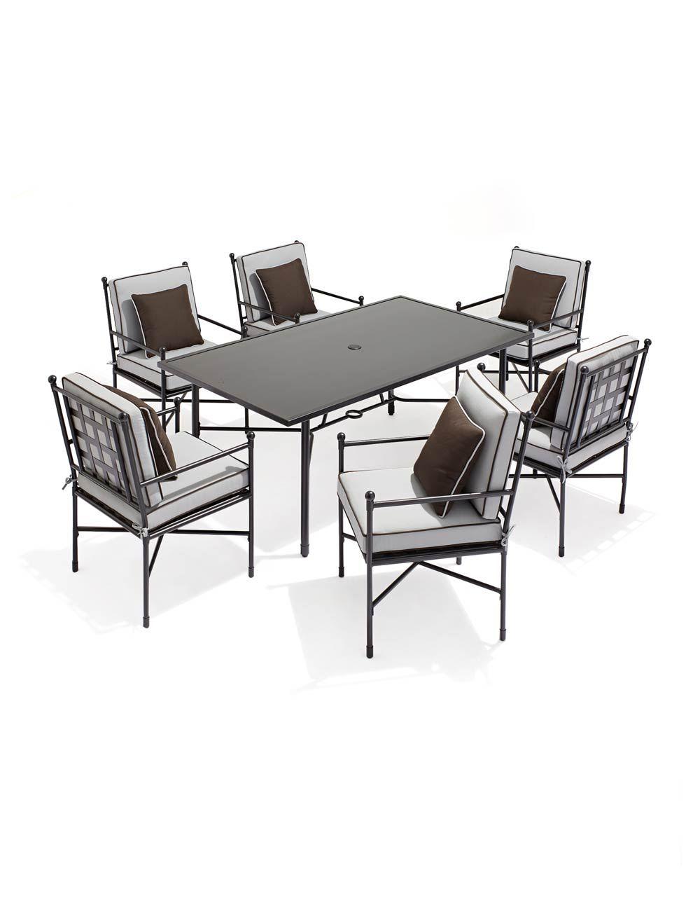 Mykonos Seven Piece Dining Set